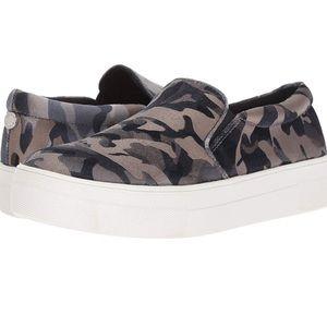 Steve Madden Metallic Camo Slip-On Sneaker